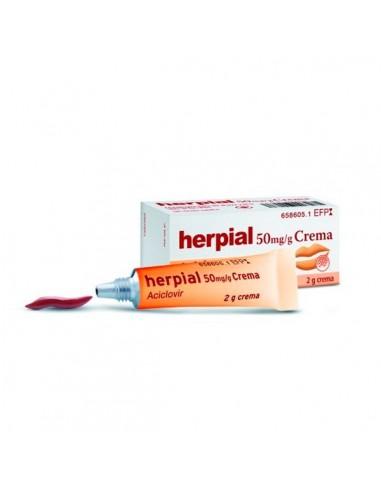 Herpial 50 mg/G Crema
