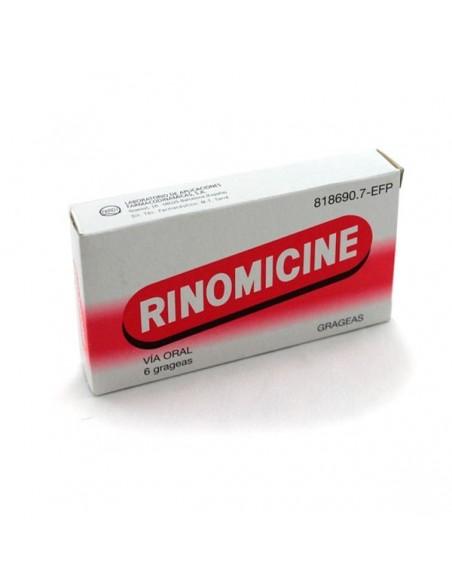 Rinomicine  6 Grageas