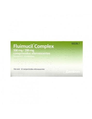 Fluimucil Complex 12 Comprimidos Efervervescentes