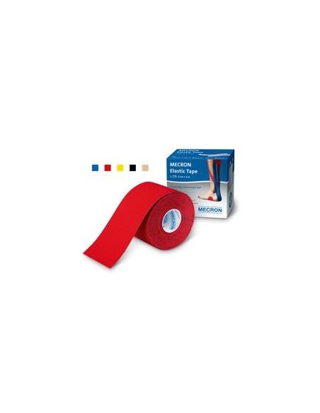 Mecron Elastic Tape Rojo 5 cm x 5 m