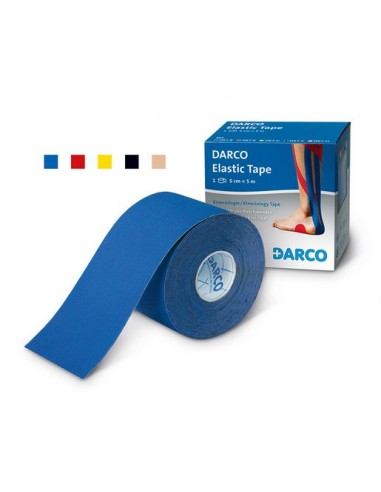 Darco Elastic Tape Negro 5cm x 5 m