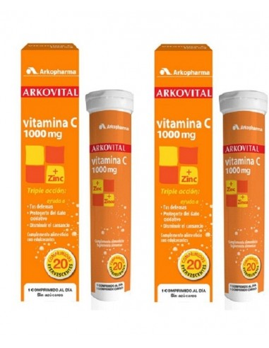 Arkovital Vitamina C 2 x 20 Comprimidos