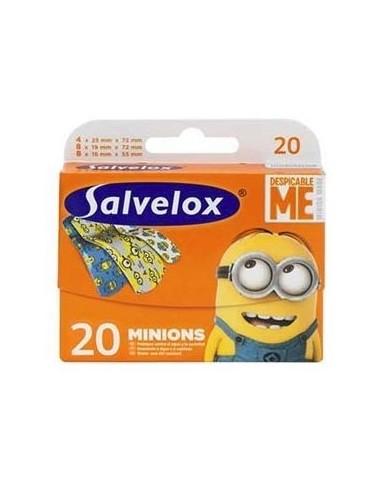 Salvelox Tiritas Minions 20 Unidades