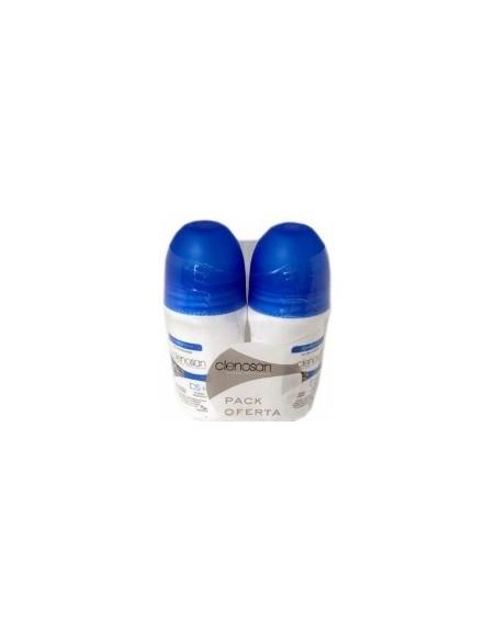 Clenosan Desodorante Roll on  2 Unidades 75 mL