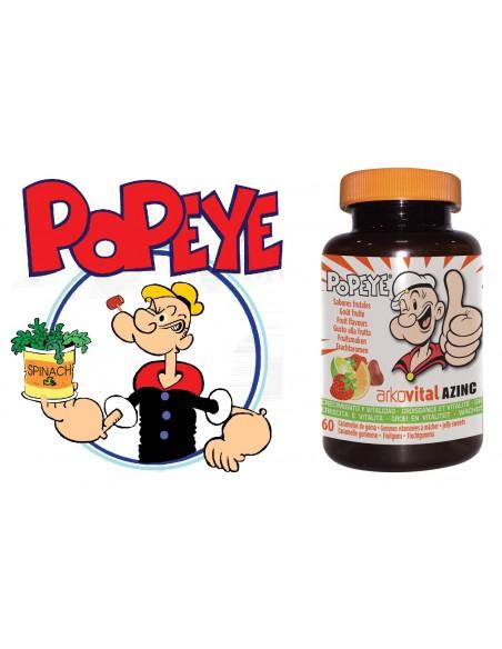 Arkovital Vitaminas Popeye Niños 60 Gominolas