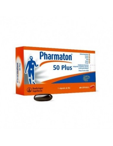 Pharmaton 50 Plus 60 Capsulas