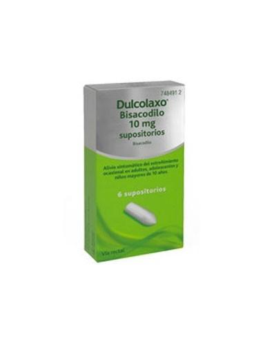 Dulco Laxo 6 Supositorios