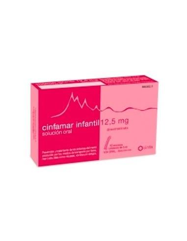 Cinfamar Infantil 12.5 mg Solucion Oral 12 Unidosis 5 ml