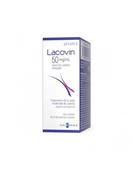 Lacovin 5% Solucion Cutanea 60 ml