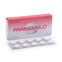 Faringenilo 20 Comprimidos