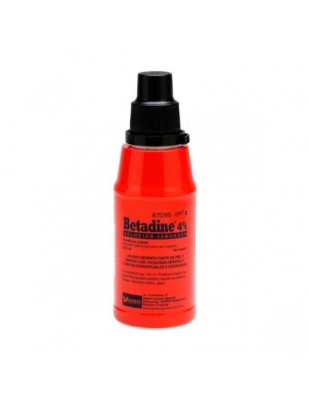 Betadine 4% Solucion Jabonosa 125 ml