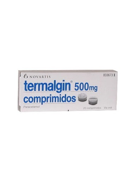 Termalgin 500 mg 20 Comp