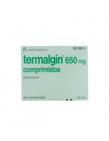 Termalgin 650mg  20 Comp