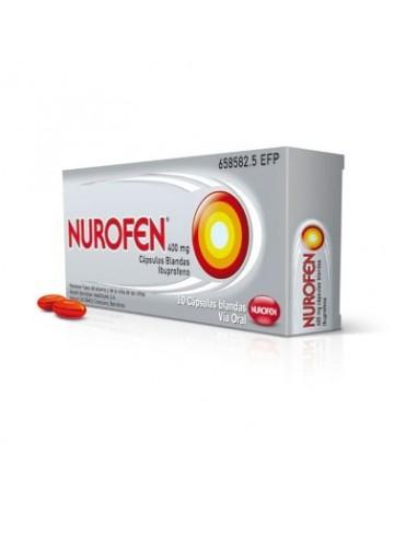 Nurofen 400 mg 10 Capsulas Blandas