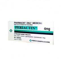 Periactin 4 mg 30 Comprimidos