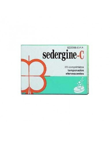 Sedergine C 20 Comprimidos Efervescentes