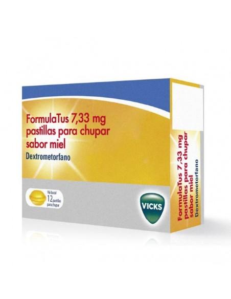 Formulatus 7.33 mg 12 Pastillas Para Chupar Miel