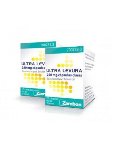 Ultra Levura 250 mg 20 Capsulas