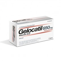 Gelocatil 650mg Solucion Oral 12 Sobres