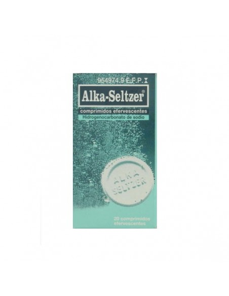 Alka Seltzer 20 Comp Eferv