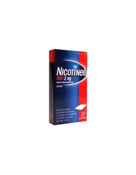 Nicotinell Fruit 2 mg. 24 Chicles