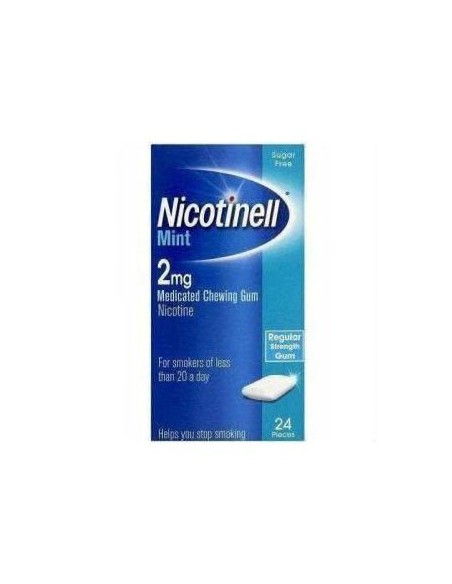 Nicotinell Cool Mint 2 mg 24 Chicles