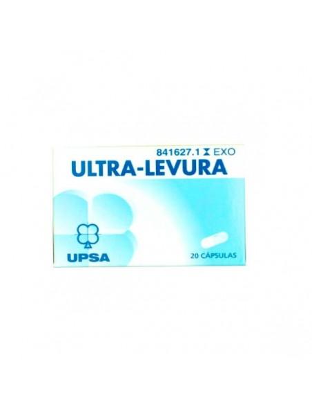 Ultra-Levura 250 mg 10 Capsulas