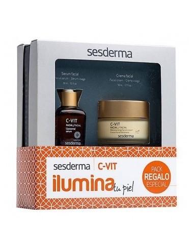 Sesderma Pack C-Vit Crema 50ml +  Serum C-Vit 30ml