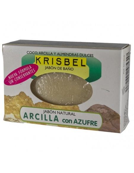 Krisbel Jabon de Arcilla y Azufre 125 g