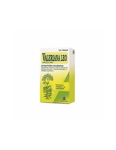 Valeriana Leo 20 Comprimidos Recubiertos