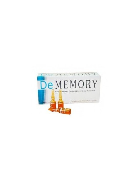De Memory 20 Ampollas