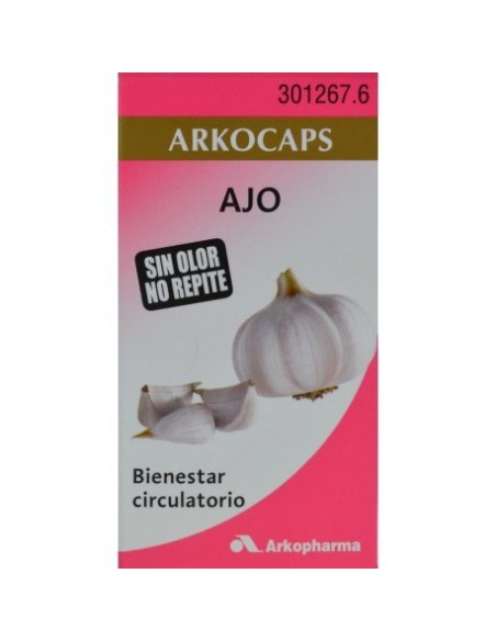 Arkocapsulas Ajo 48 Capsulas