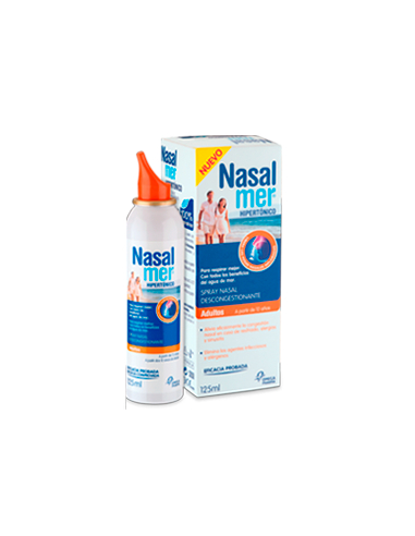 Nasalmer Adulto Hipertonico 125 mL