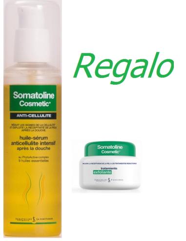 Somatoline Aceite Serum Anticelulitico 125 mL + Regalo Somatoline Exfoliante Pre Reductor 300g