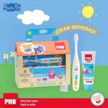 Phb  Peppa Pig Pack Cepillo+ Pasta+ Mochila