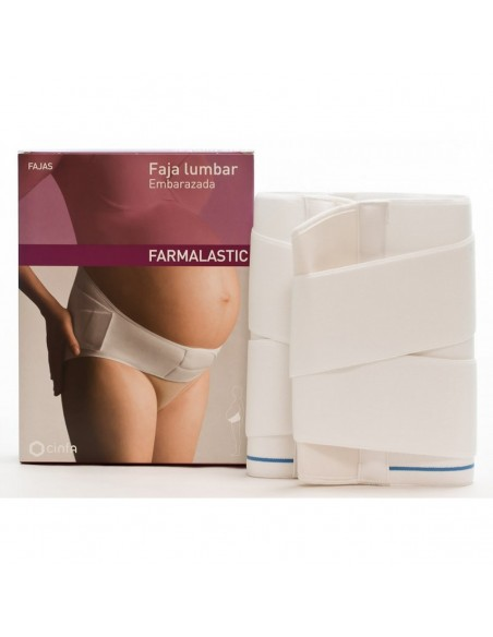 Farmalastic Faja Lumbar Embarazada Talla 2