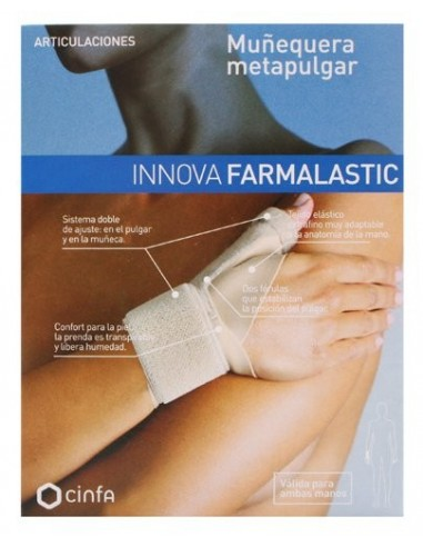Farmalastic Muñequera Metapulgar Innova Talla 1