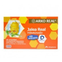 Jalea Real 1000mg light 20 Ampollas