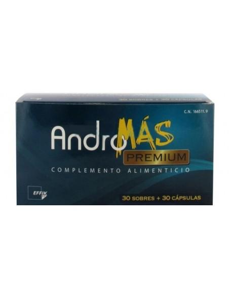 Effik Andromas Premium 30 Sobres + 30 Capsulas