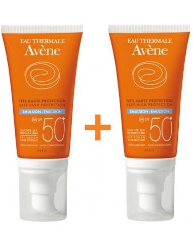 Avene Emulsion Oil Free Spf 50+ 2 X 50ml