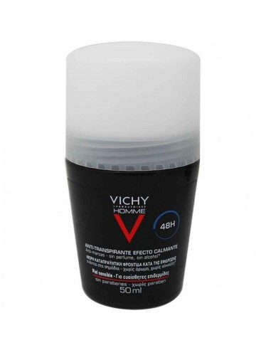 Vichy Homme Desodorante Antitranspirante 48 h Roll on 50 mL