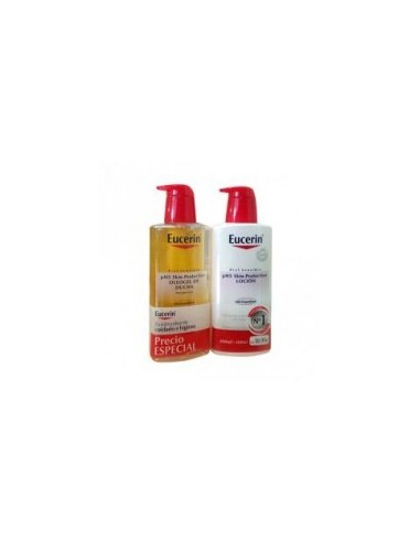 Eucerin Oleogel 500 mL + Locion 500 mL