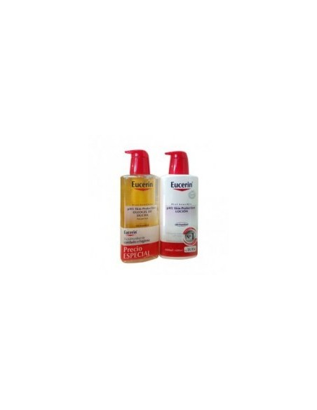 Eucerin Oleogel 400 mL + Locion 400 mL