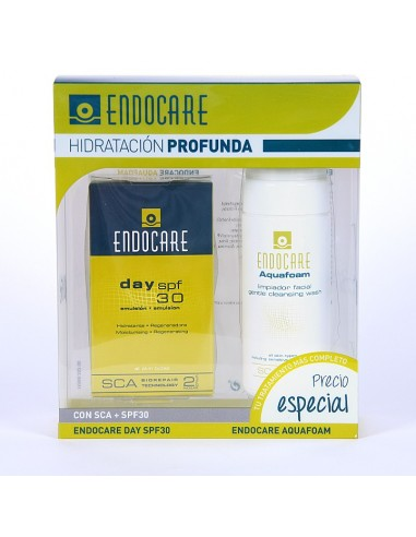 Endocare Day SPF 30 + Aquafoam 125 mL
