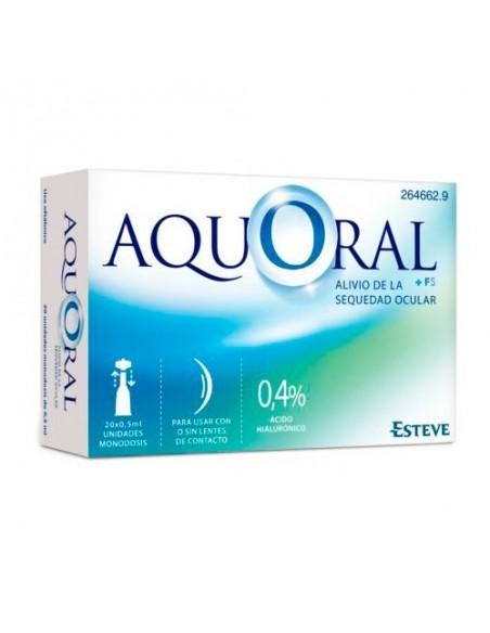 Aquoral monodosis 20 × 0.5mL