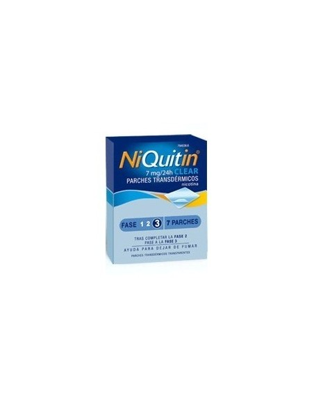Niquitin Parche Nicotina 7 mg 7 Unidades