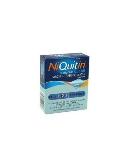 Niquitin Parche de Nicotina 14 mg 7 Unidades