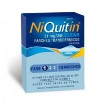 Niquitin Parche de Nicotina 21 mg 7 Unidades