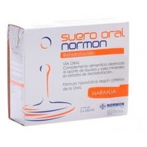 Suero Oral Normon Naranja 2 Bricks x 250 mL