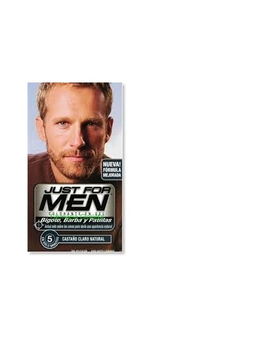 JUST FOR MEN BIGOTE Y BARBA CASTAÑO CLARO 100ML